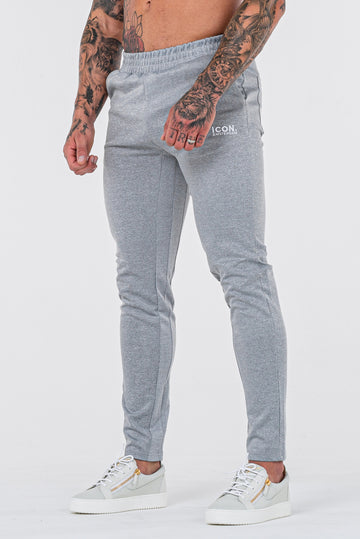THE FROZEN TRACK PANTS - GREY - ICON. AMSTERDAM