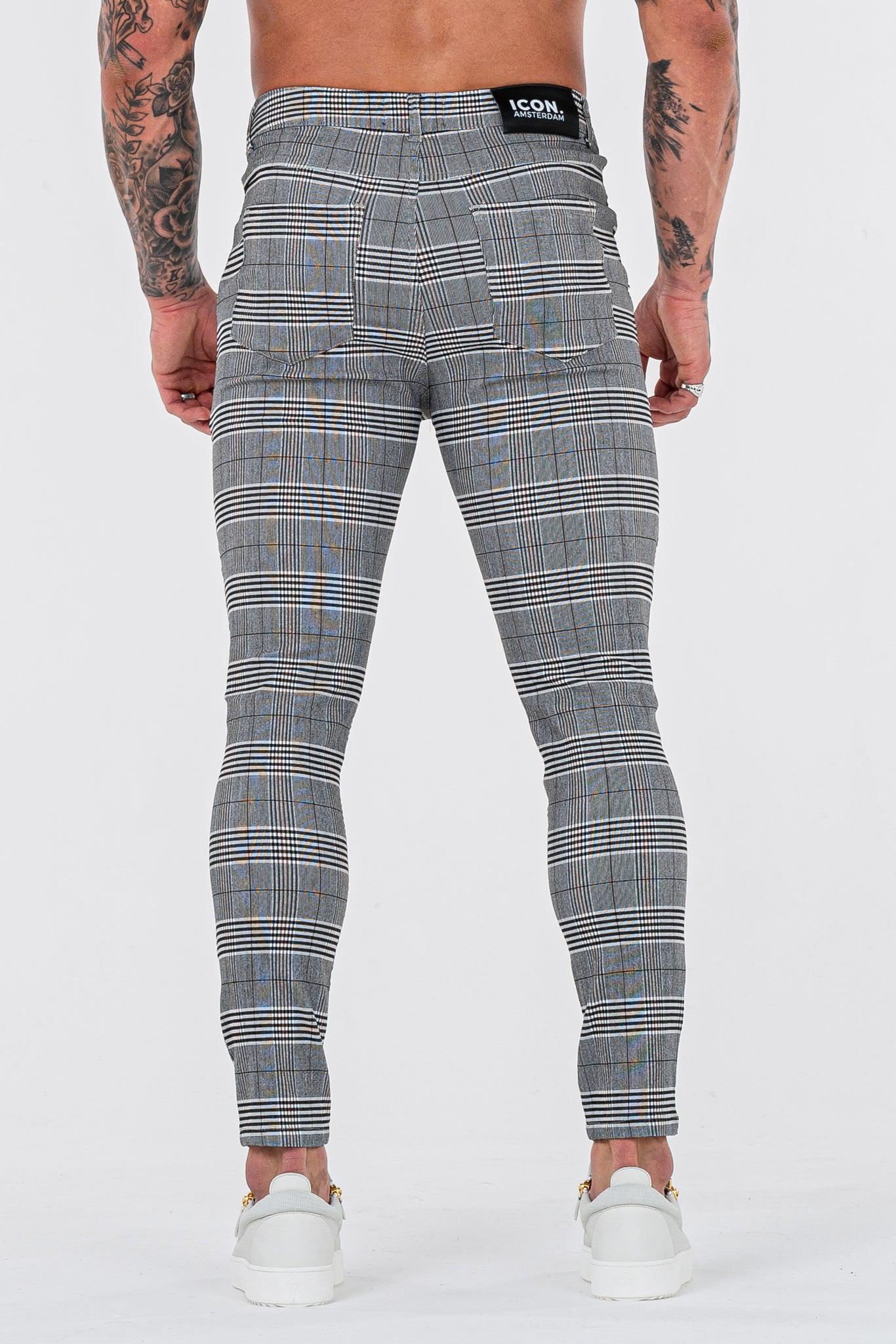 THE SIGNATURE TROUSERS - GREY/BLACK
