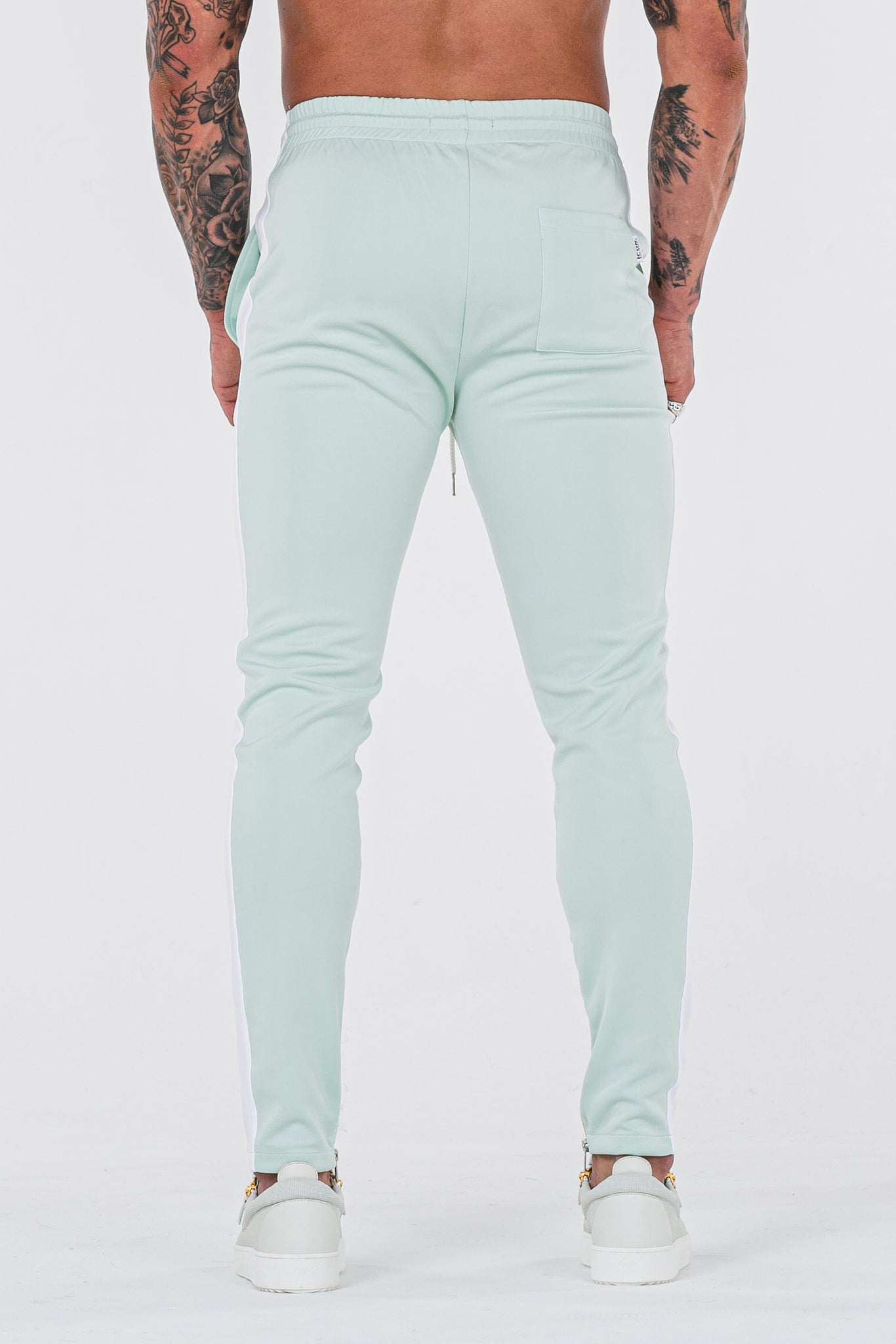 THE ICONIC TRACK PANTS - MINT GREEN