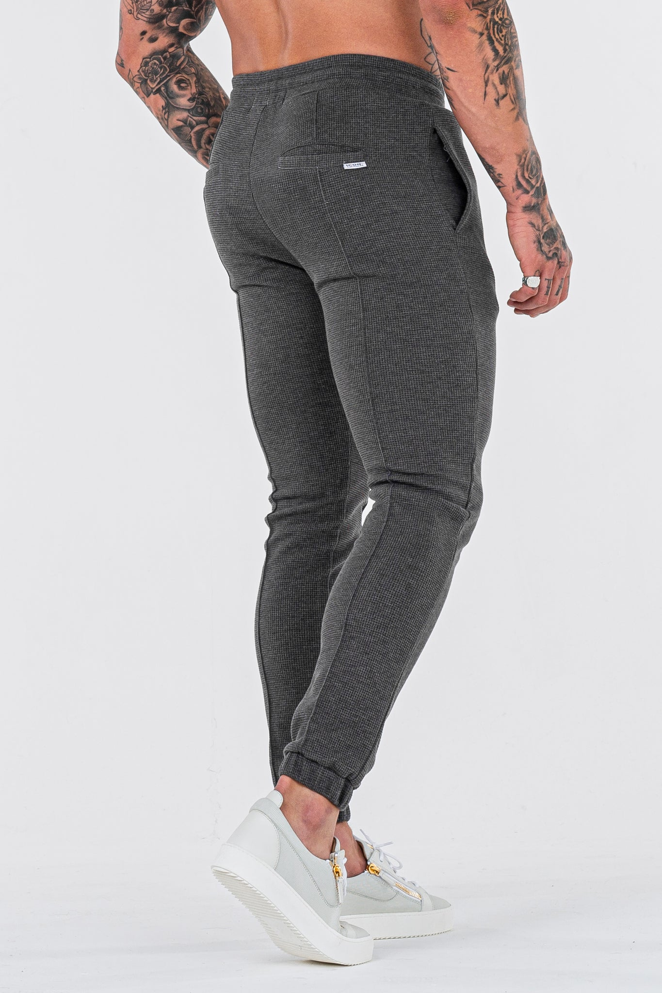 THE CAZA TROUSERS - CHARCOAL