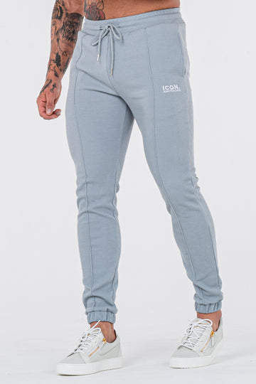 THE CAZA TROUSERS - PALE BLUE - ICON. AMSTERDAM