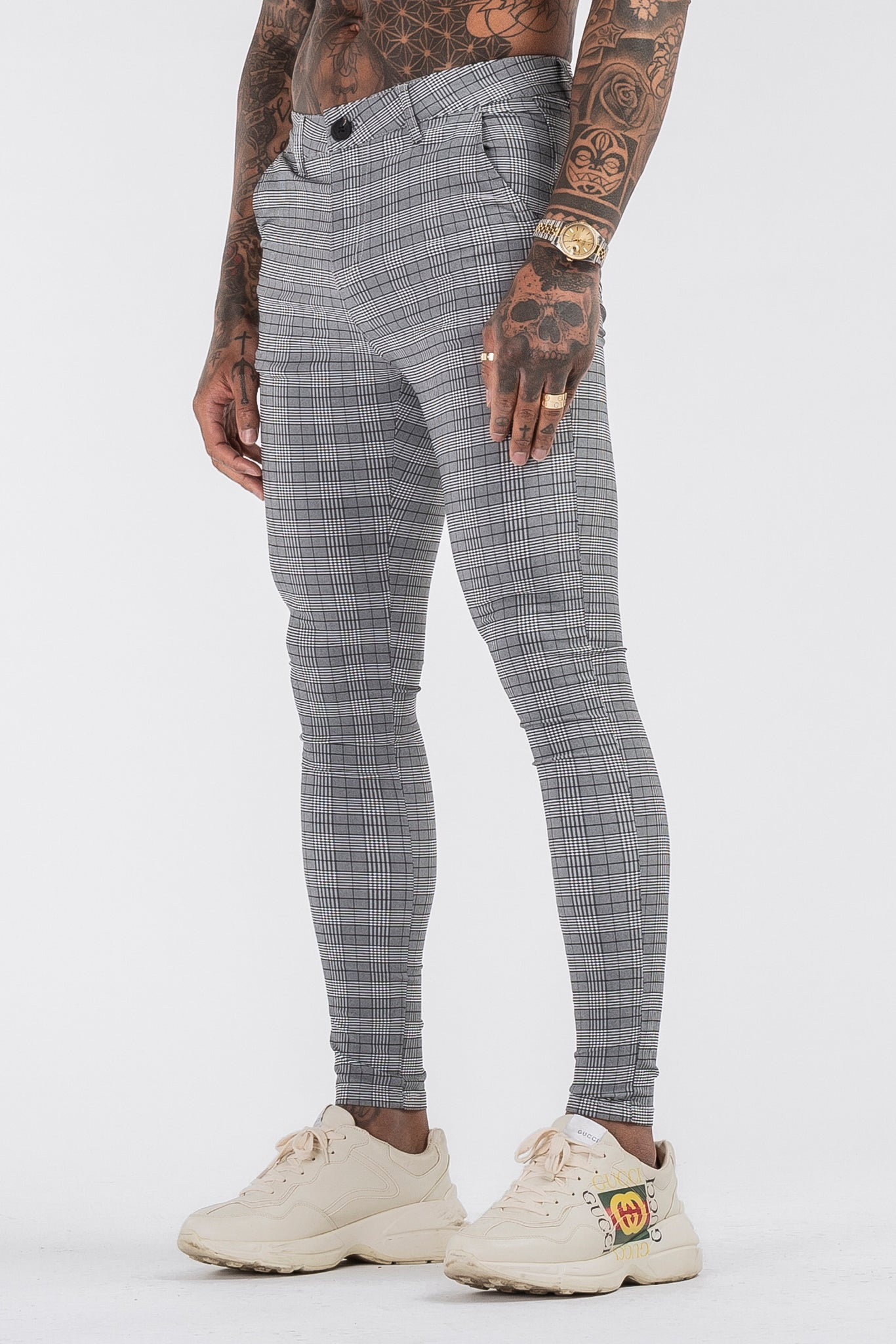 THE LATO TROUSERS - GREY - ICON. AMSTERDAM