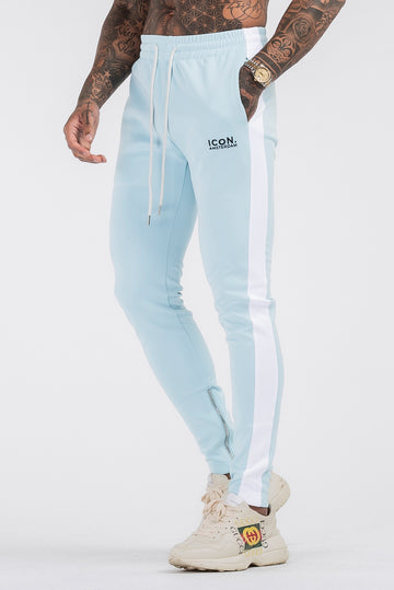 THE ICONIC TRACK PANTS - LIGHT BLUE - ICON. AMSTERDAM