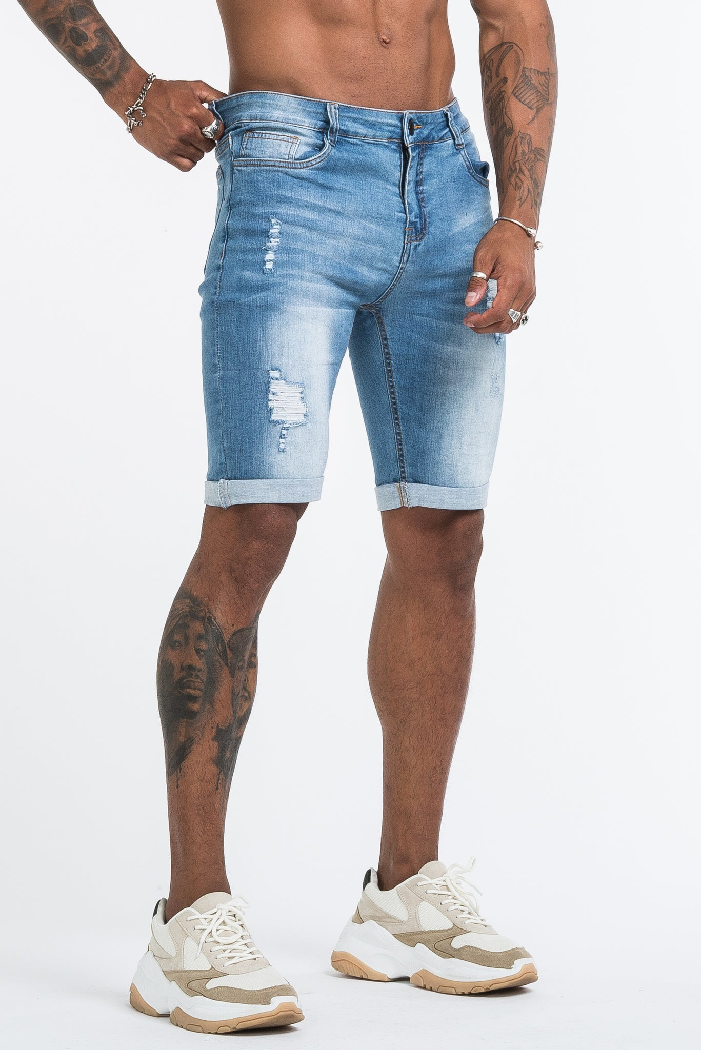 THE MEDUSA SHORTS - LIGHT BLUE