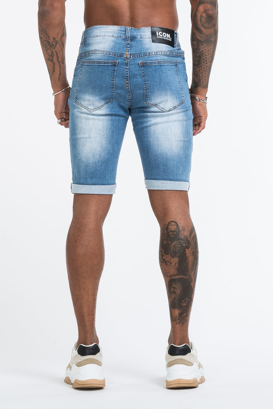 THE MEDUSA SHORTS - LIGHT BLUE - ICON. AMSTERDAM