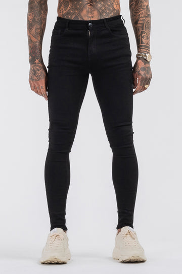 THE LORENZO JEANS - BLACK - ICON. AMSTERDAM