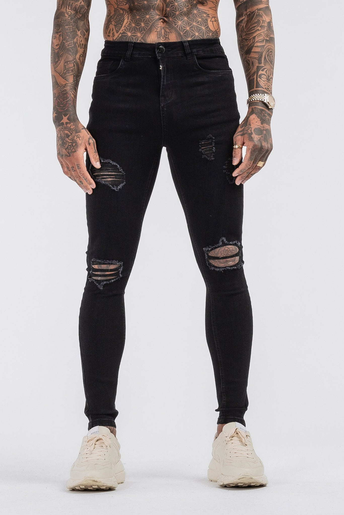 THE SAVAGE JEANS - BLACK