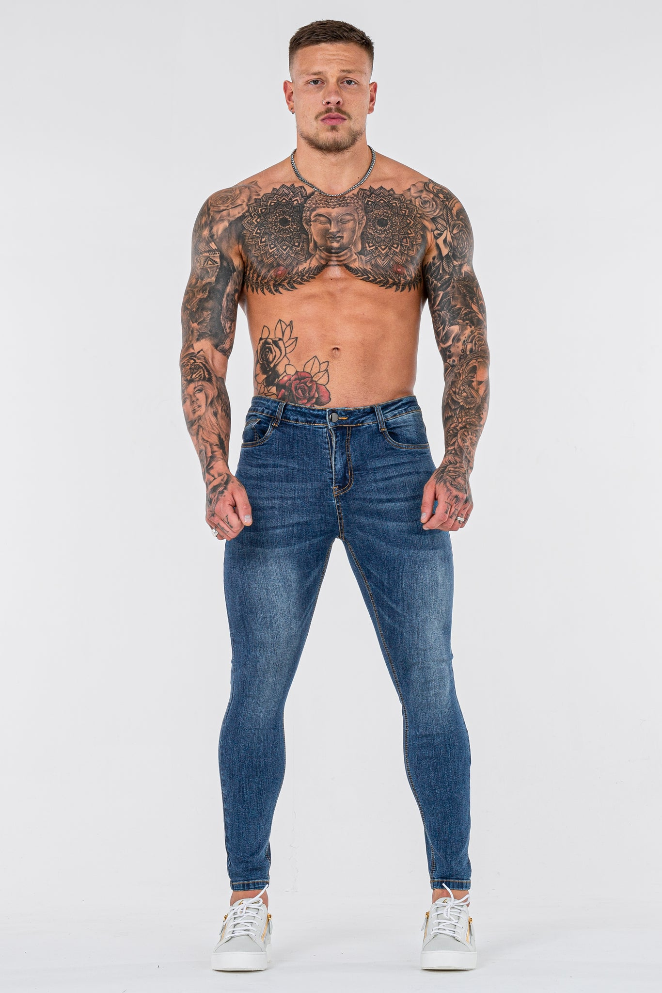 THE LORENZO JEANS - DARK BLUE