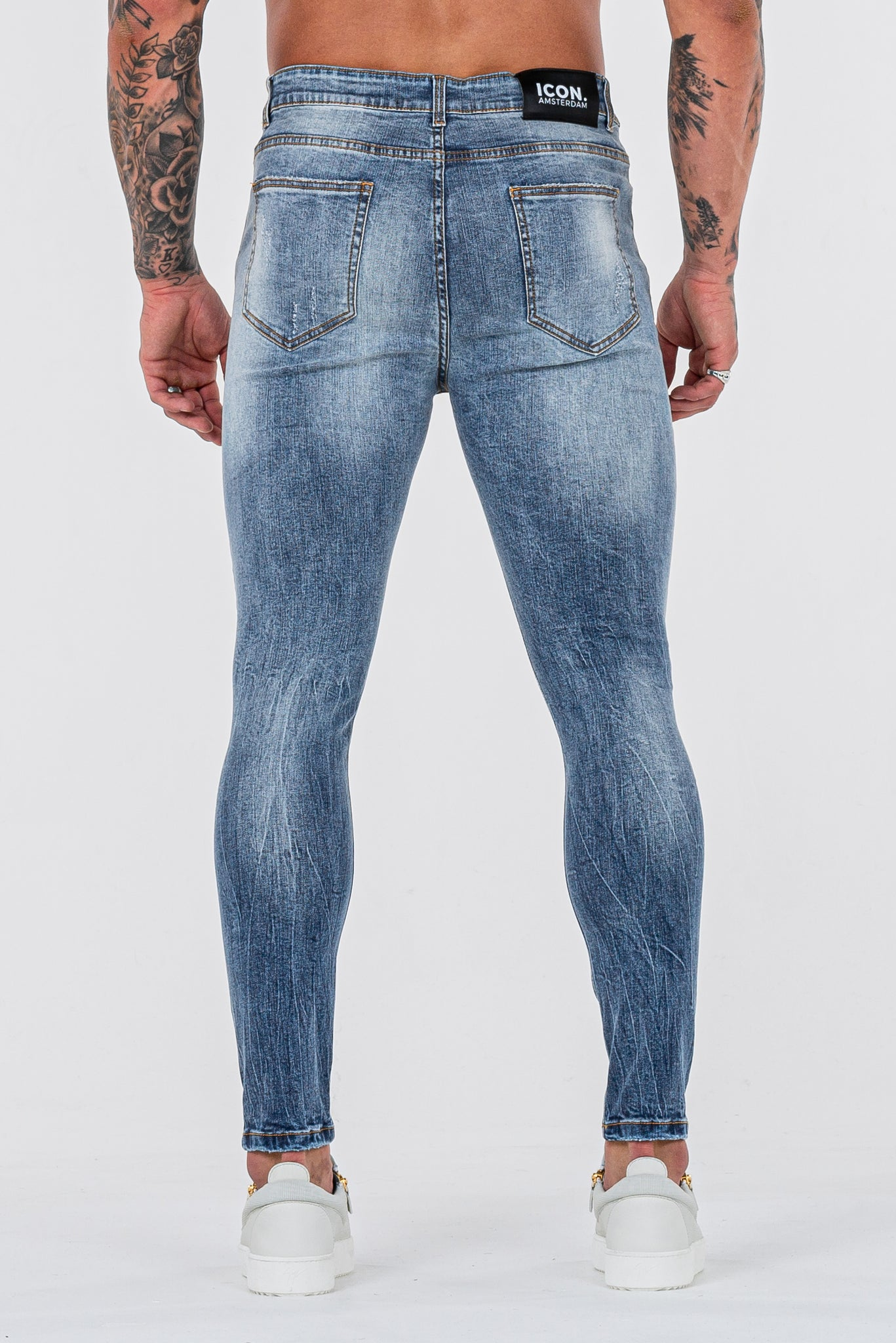 THE GATO JEANS - STEEL BLUE