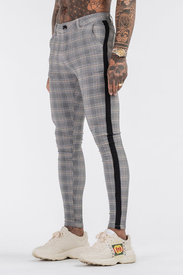 THE VIERA 2.0 TROUSERS - GREY/BLACK - ICON. AMSTERDAM