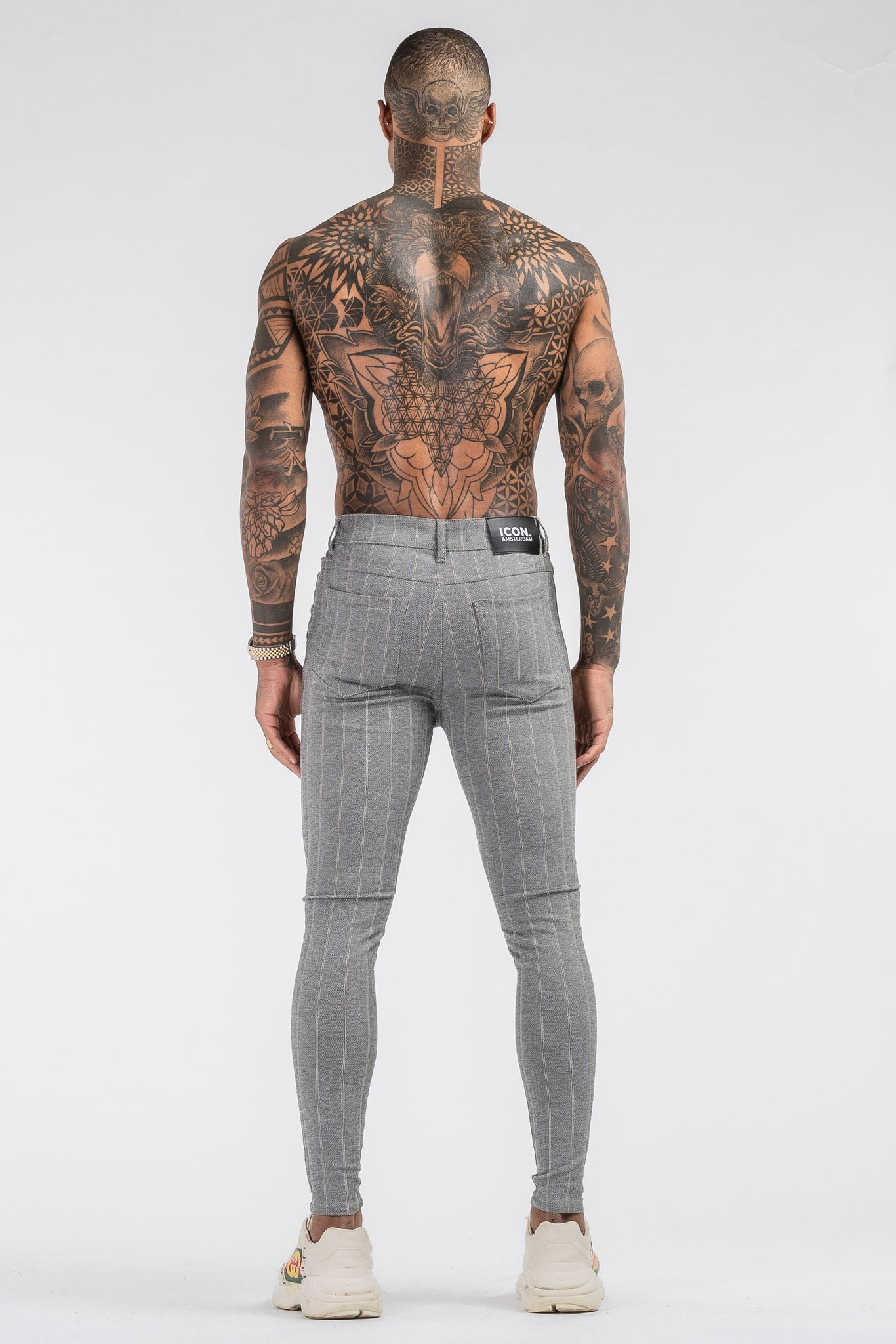 THE AVERY TROUSERS - GREY