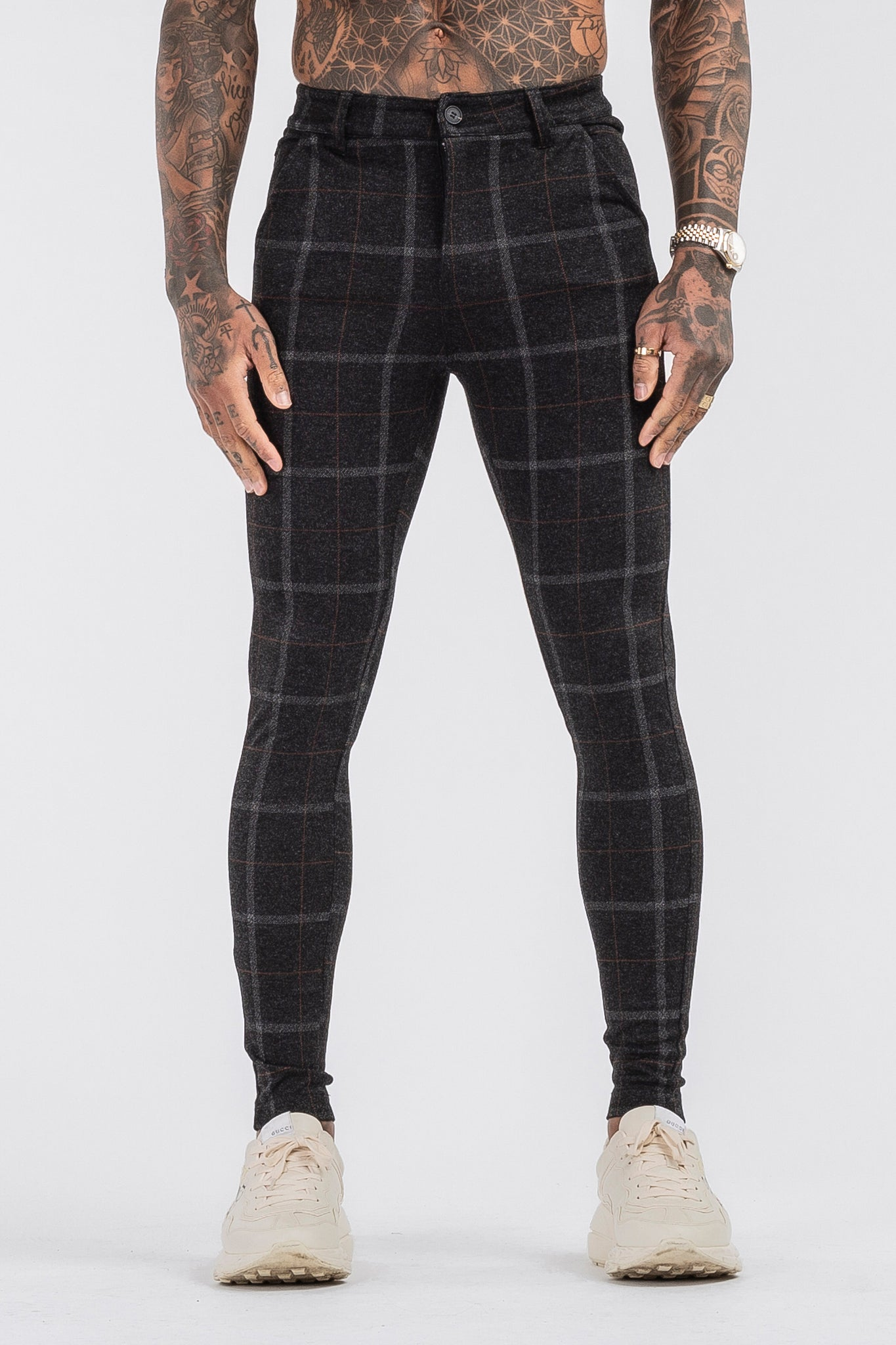 THE IZAYA TROUSERS - BLACK - ICON. AMSTERDAM