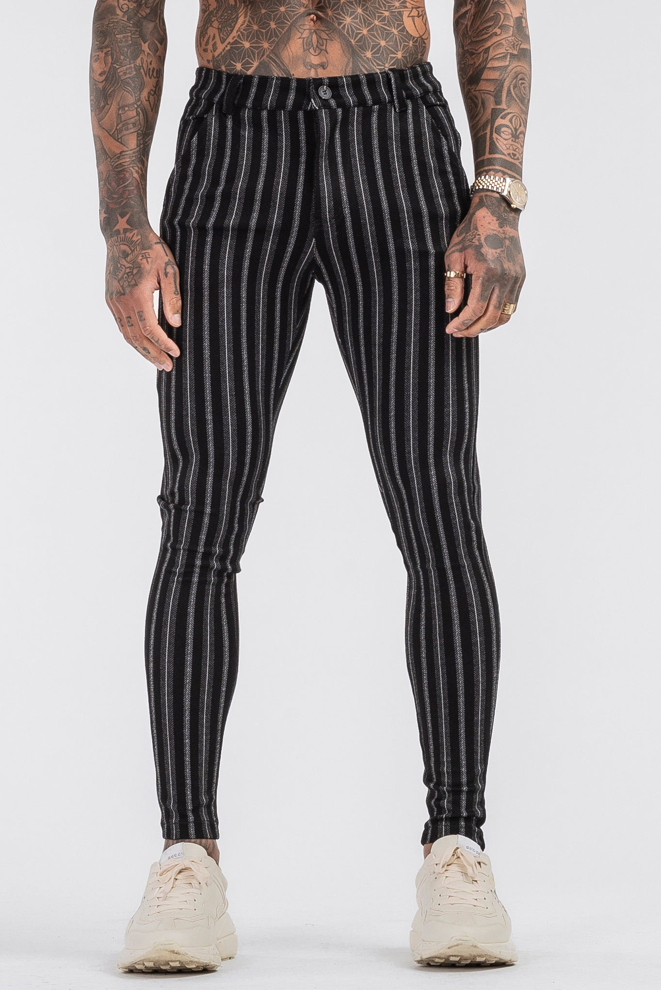 THE ALEC TROUSERS - BLACK