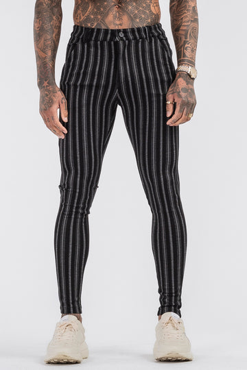 THE ALEC TROUSERS - BLACK - ICON. AMSTERDAM