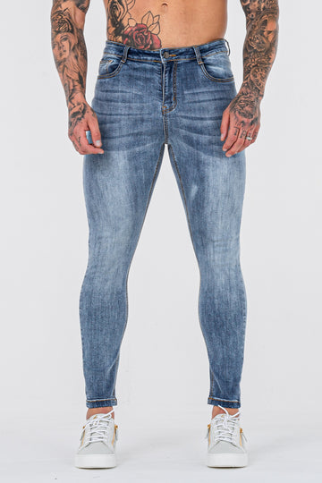 THE LORENZO JEANS - PALE BLUE - ICON. AMSTERDAM