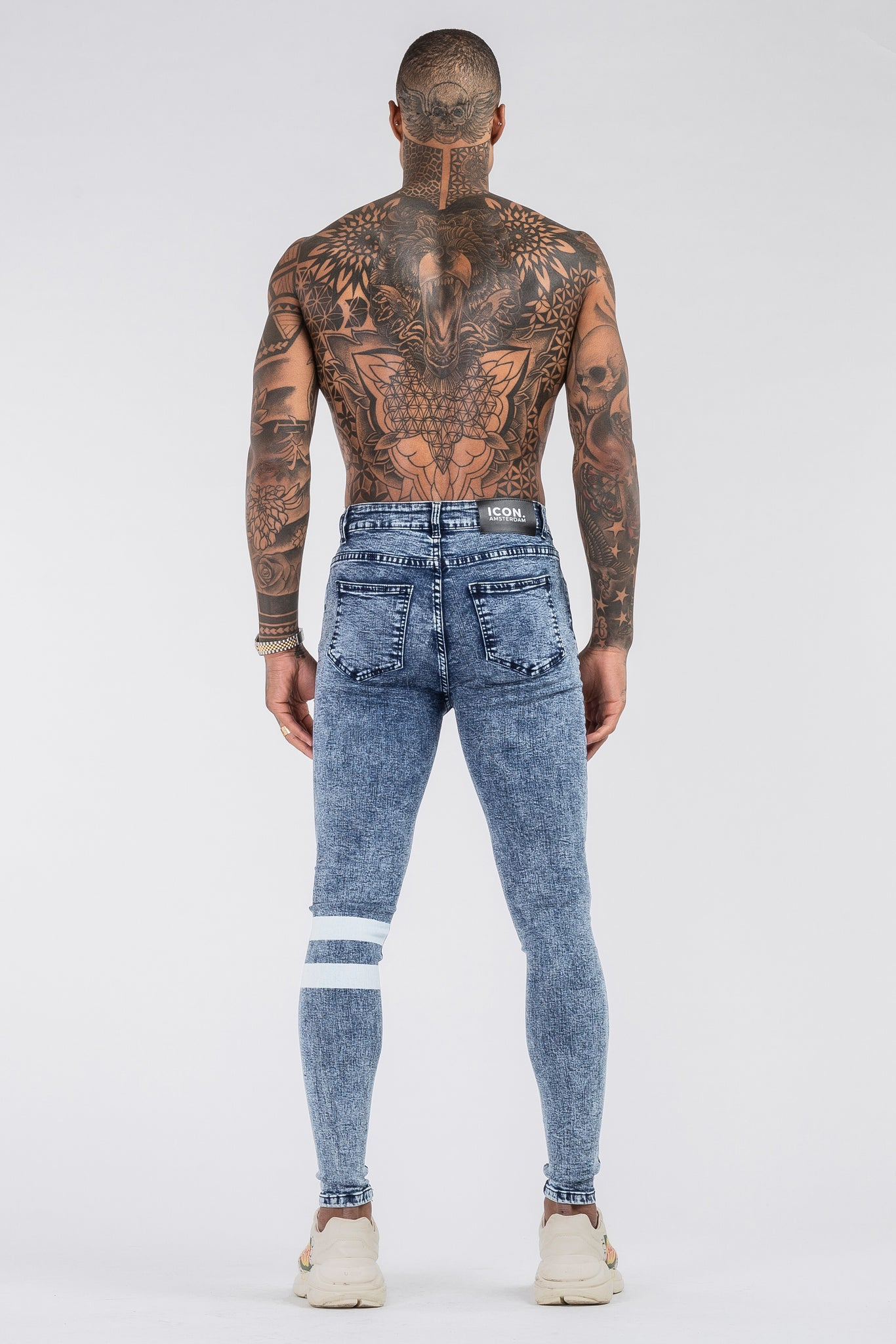 THE GLITCH JEANS - LIGHT BLUE
