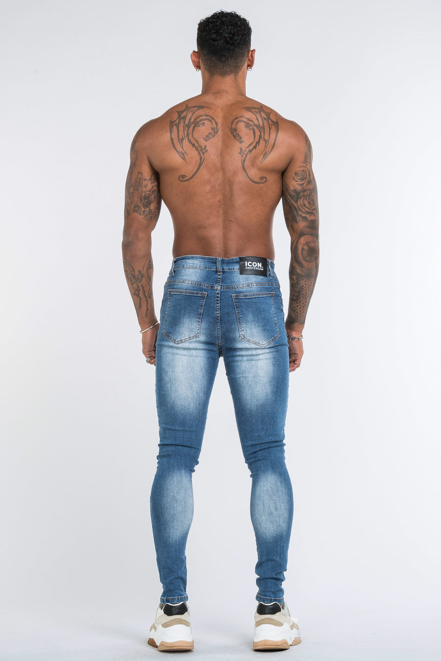 THE BLADE JEANS - DARK BLUE - ICON. AMSTERDAM