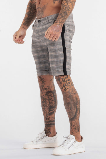 THE VIERA SHORTS - GREY/BLACK - ICON. AMSTERDAM