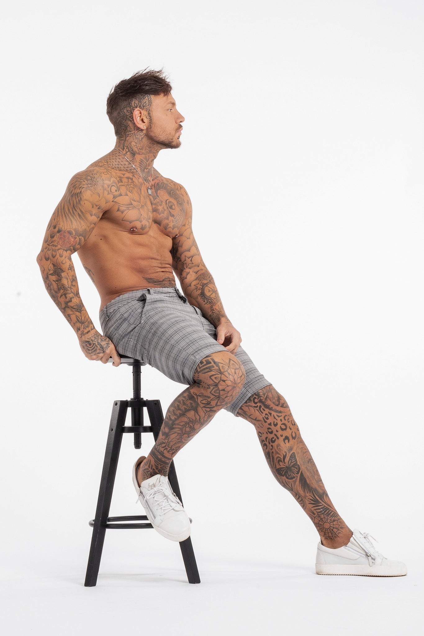 THE LATO SHORTS - GREY