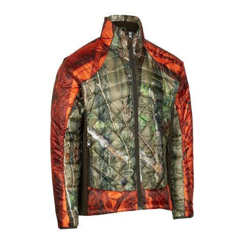 Cumberland quilted jacket camo