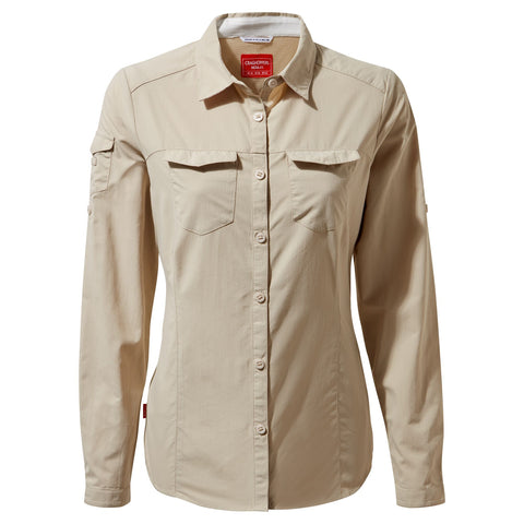 NL Adventure ls shirt desert sand