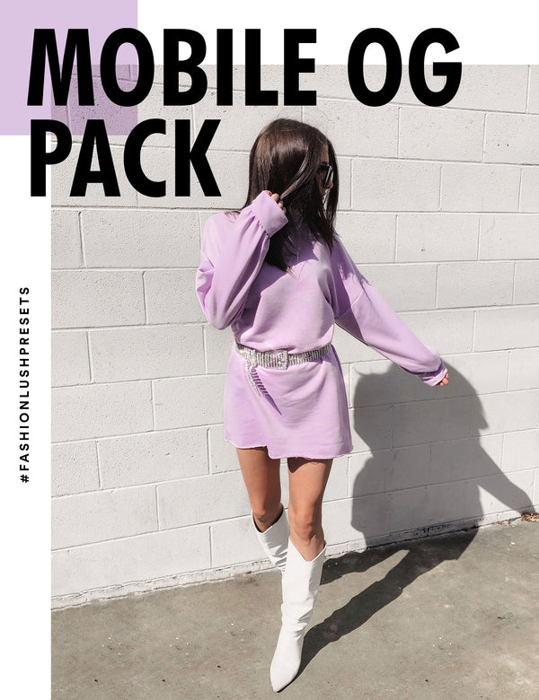 MOBILE ONLY | OG PACK