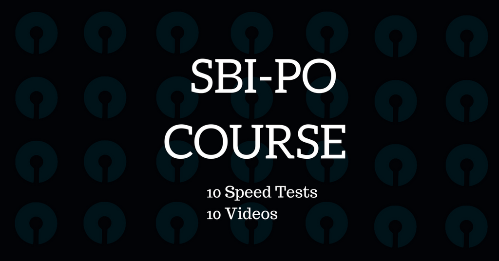 sbi po course