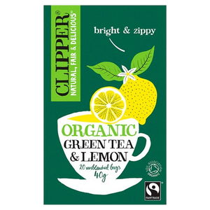 有機檸檬緑茶 Clipper Organic Green Tea with Lemon 40g