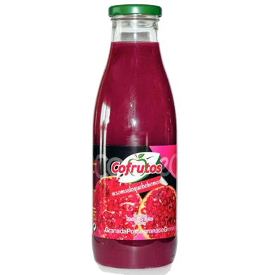 西班牙可維可真鮮榨石榴汁 Cofrutos 100% Squeezed Pomegrande Juice 750ml
