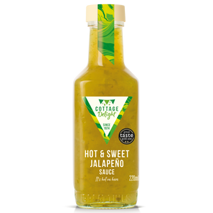 墨西哥青辣椒醤 Cottage Delight Hot & Sweet Jalapeno Sauce 220ml