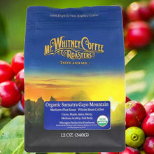 中度烘焙蘇門答臘有機珈琲粉 Organic Sumatra Gayo Mountain Medium Plus Roast Ground Coffee 340g