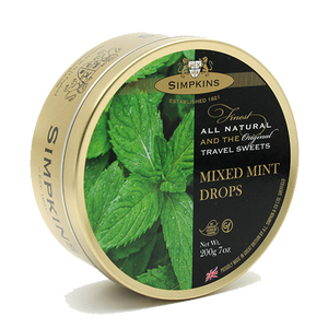 什錦薄荷硬糖 Simpkins Mixed Mint Drops 200g