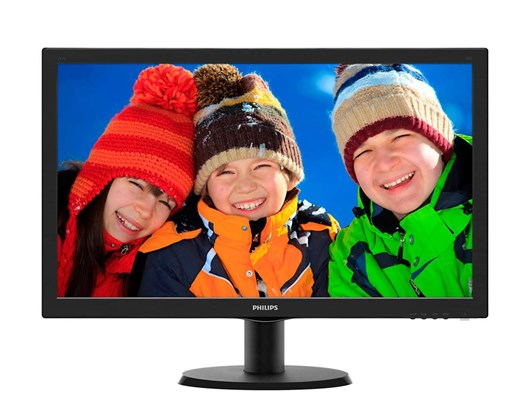 Philips 243V5LHSB 23.6 inch LED 1ms Monitor
