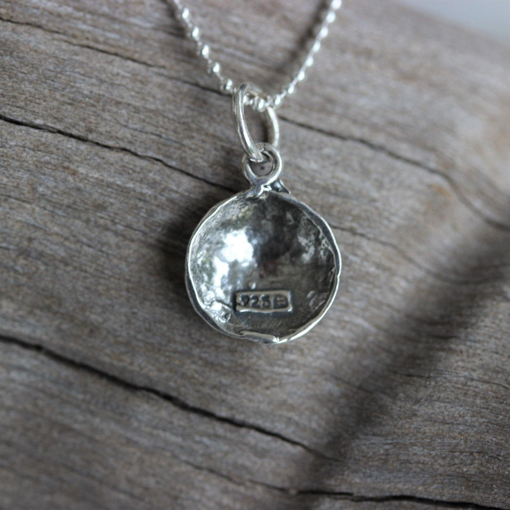 Sterling Silver 925 1/2 Soccer Ball Football Pendant & 45cm Ball Chain Necklace
