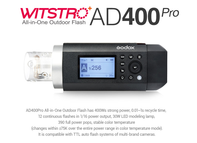 Godox AD400pro Outdoor flash