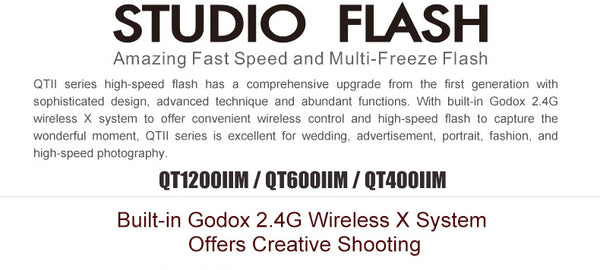 Godox QT600II Studio flash