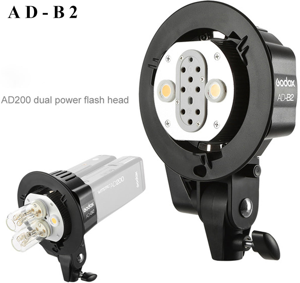 Godox AD-B2 bracket for 2 ad200