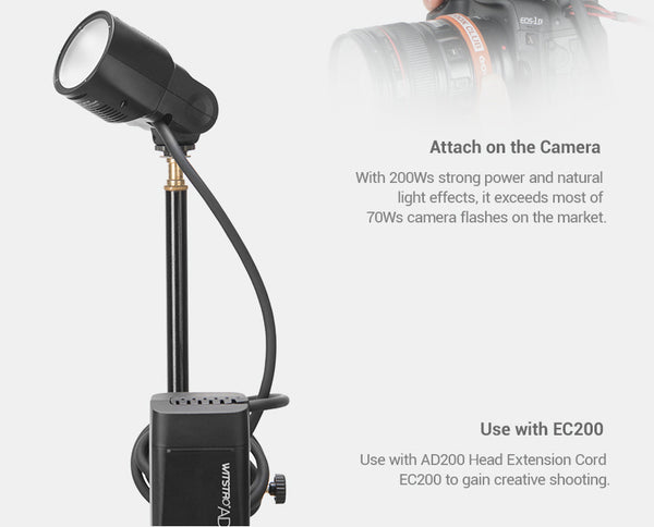 Godox H200R Round Flash Head for AD200