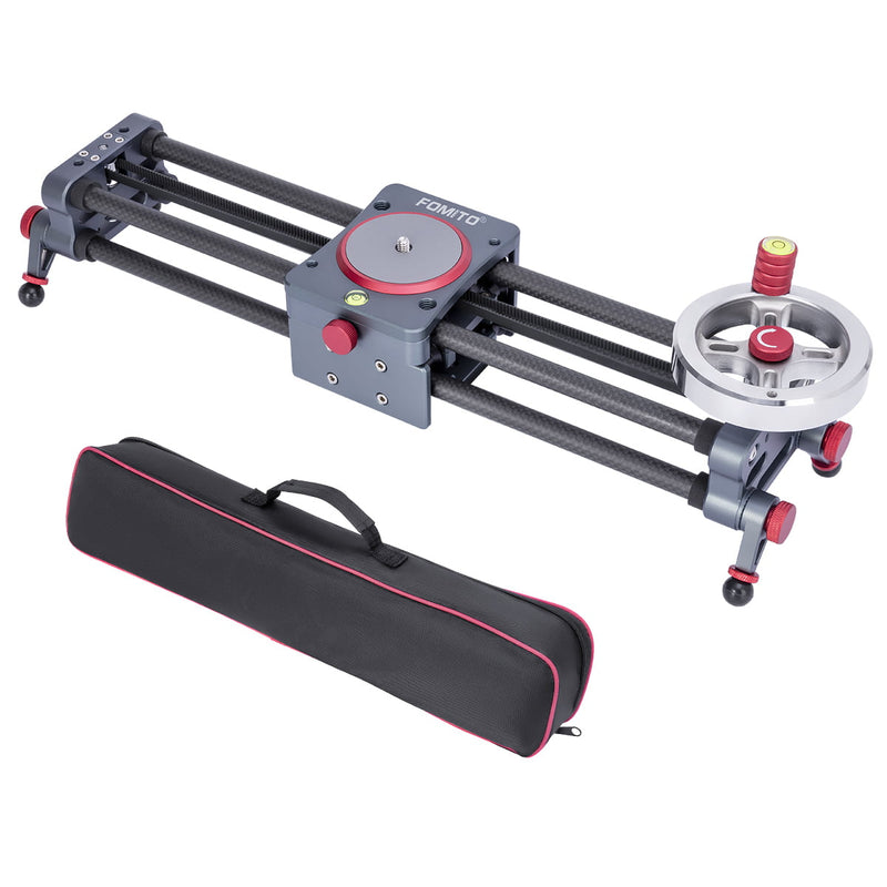 Fomito double distance Carbon Fiber slider rail slider track dolly ultra silent motor control