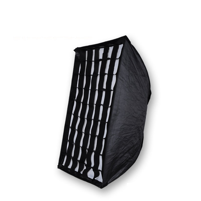 NiceFoto KS80*120cm Honeycomb Grid Umbrella Frame Photo Studio Rectangle Softbox Soft Box For All Strobe Flash Lighting