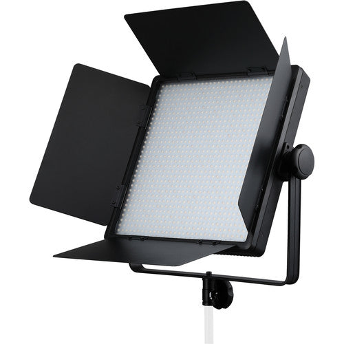 Godox Bi-color LED1000Bi II Daylight LED1000D II DMX LED Video Light 0-100% Dimming 5400 Lux TLCI 98