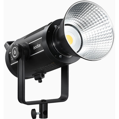 Godox SL150 SL200 II LED Video Light Slient Mode Operation with U-type Bracket 5600K±200K