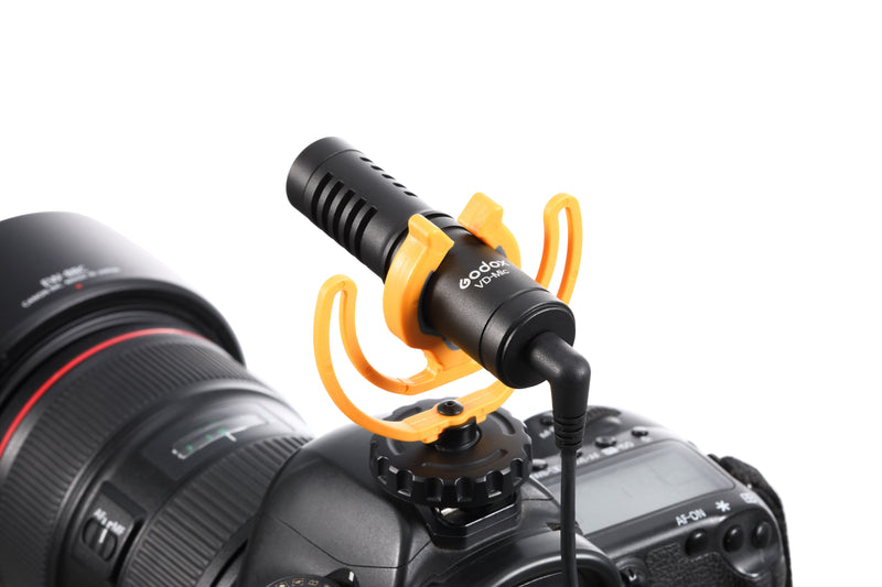 Godox VD-Mic Compact Directional Shotgun Microphone for Vlogging Live Streaming Interview