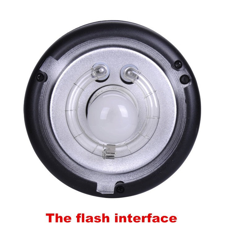 NiceFoto SN-104 104mm Height Flash Light Tube Protector Protection Cover Studio Lights Shielding Outdoor Lamp Holder