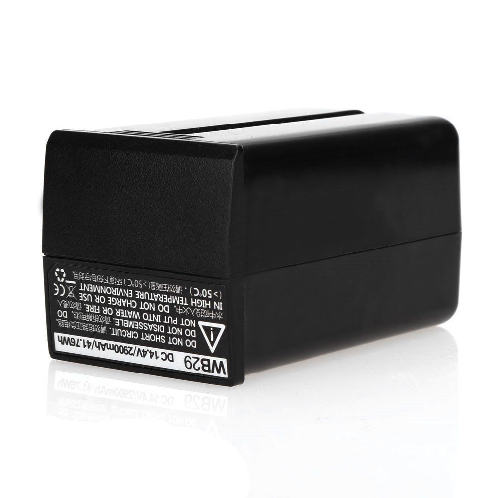 Godox WB29 14.4V 2900Mha Li-ion Battery For AD200 Pocket Flash