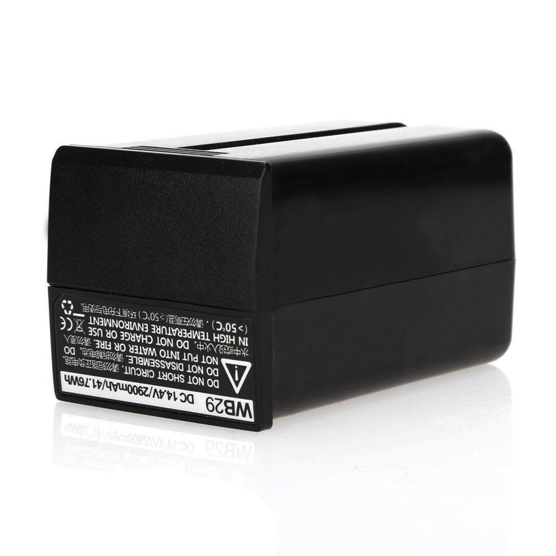 Godox WB29 14.4V 2900Mha Li-ion Battery For AD200 Pocket Flash - FOMITO.SHOP