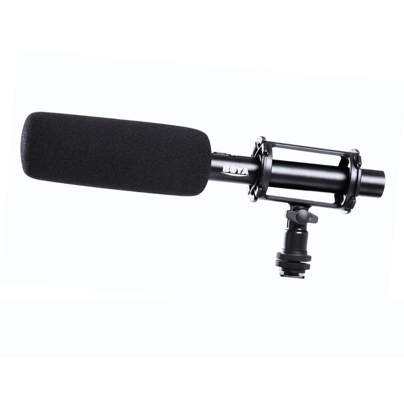 BOYA BY-PVM1000 Professional Shotgun Microphone Designed especially for use with camcorder or video DSLR for Canon Nikon Sony Panasonic Camera Camcorder Video Recording Mic