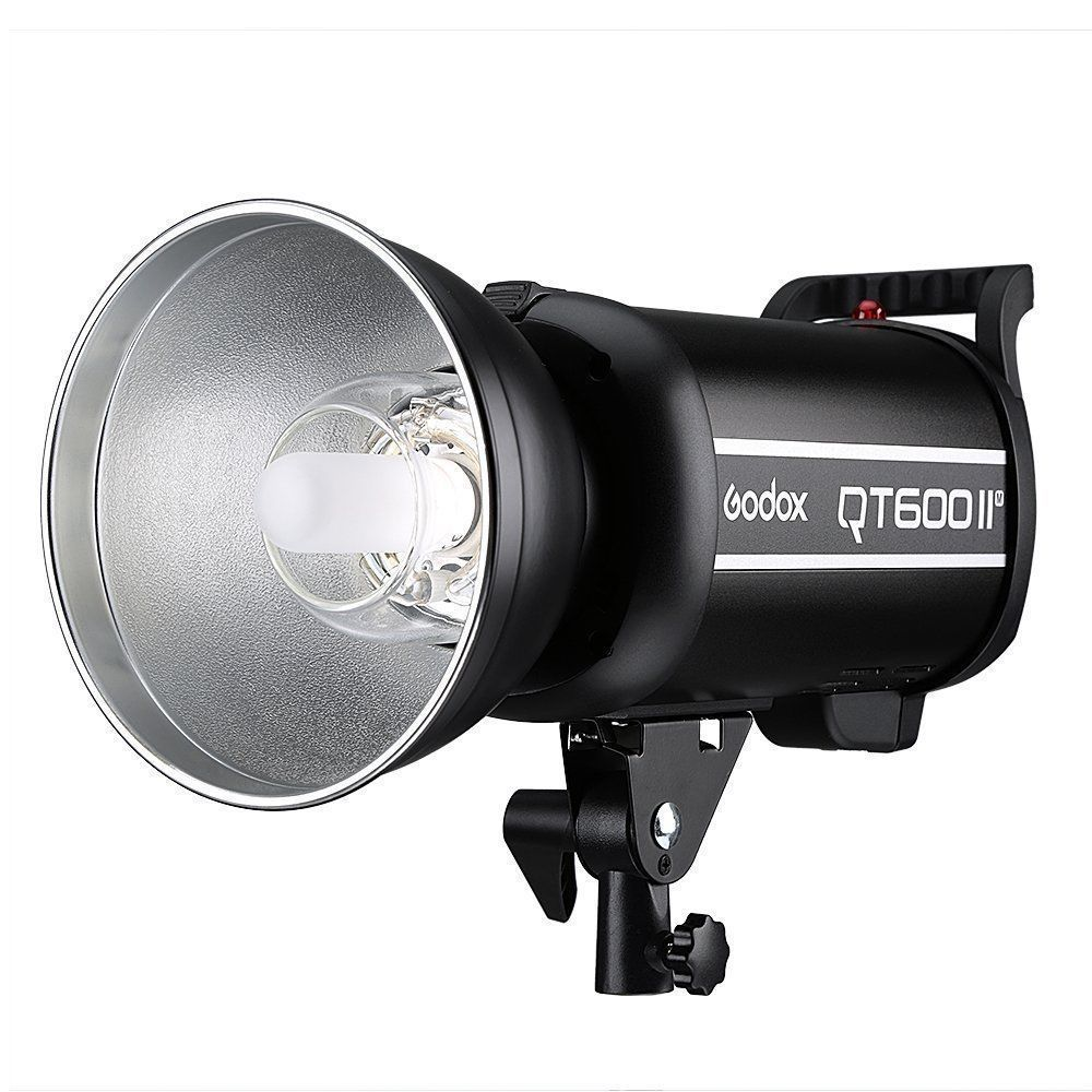 Godox QT-600II M 600WS Stuido Flash Light GN76 110V / 220V Built-in 2.4G Wirless X System 1/8000s High Speed Sync Flash Strobe Light