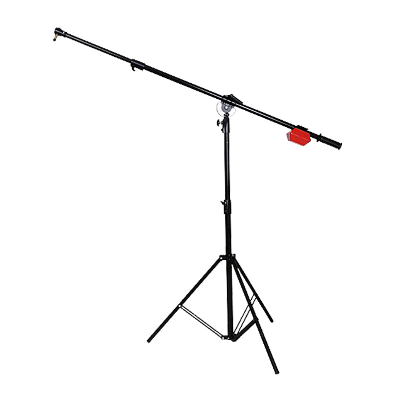 NiceFoto LS-10 Heavy Duty Studio Boom Arm Top Light Stand & 5KG Counter Weight Balancer