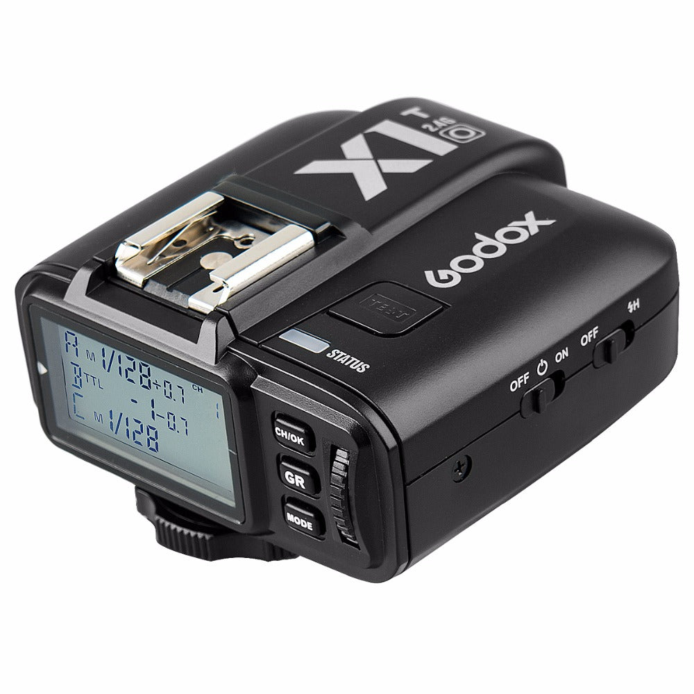 GODOX X1T-O TTL Strobe Trigger 1/8000s HSS 32 Channels 2.4G Wireless LCD Flash Trigger Transmitter for Olympus Panasonic